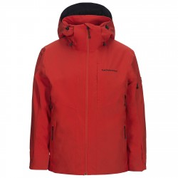 Ski jacket Peak Performance HipeCore+ Maroon Man