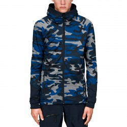 Première couche Peak Performance Rider Printed Hood Homme