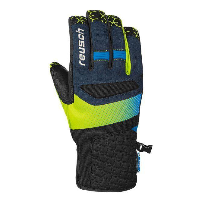 Guanti Sci Reusch Stuart R-Tex® XT blu-verde