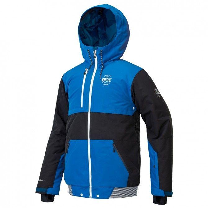 Freeride ski jacket Picture Panel Man