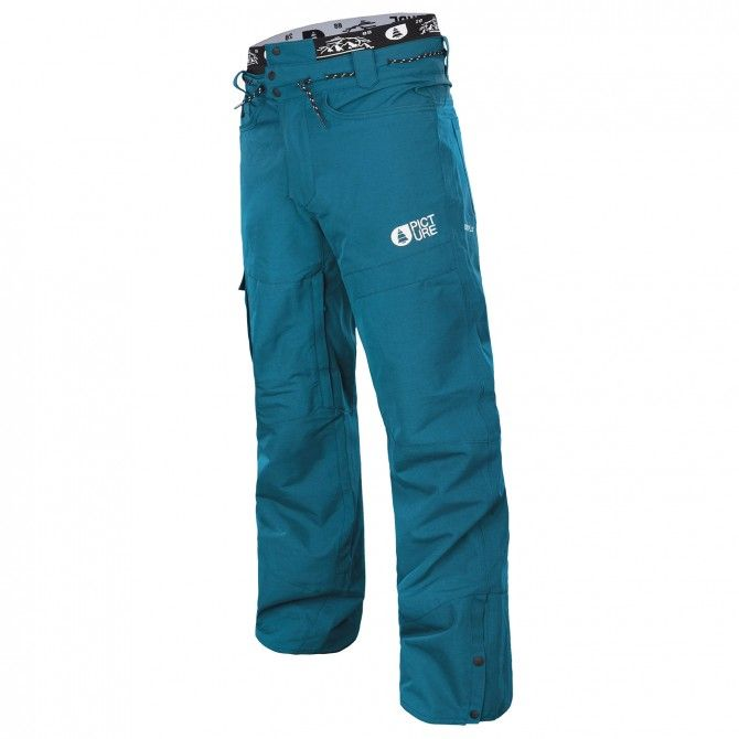 Freeride ski pants Picture Under Man