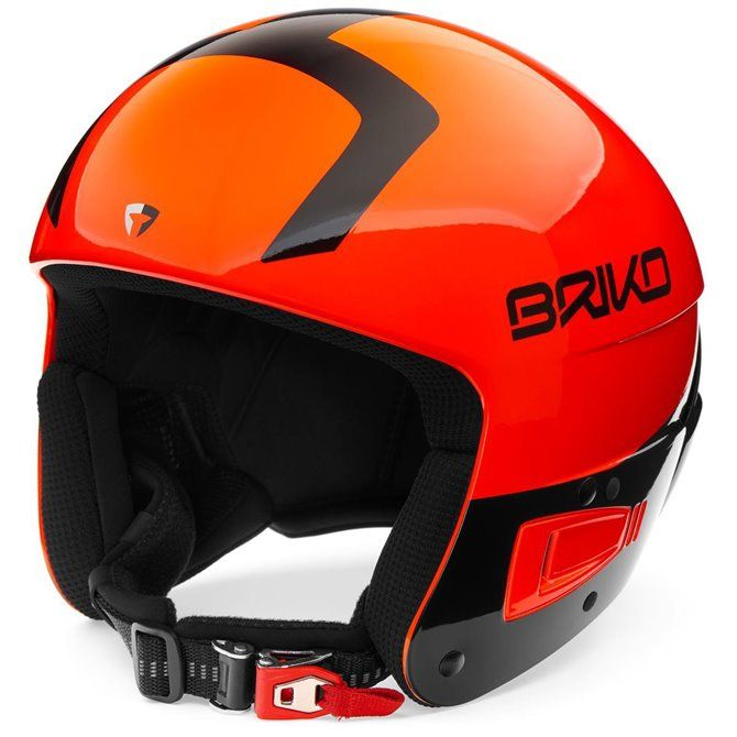 Casco sci Briko Vulcano Fis 6.8 shiny orange fluo