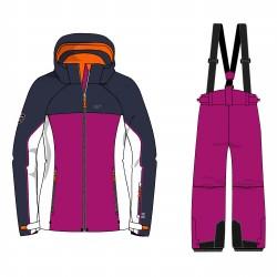 Completo sci Bottero Ski CPS Bambina