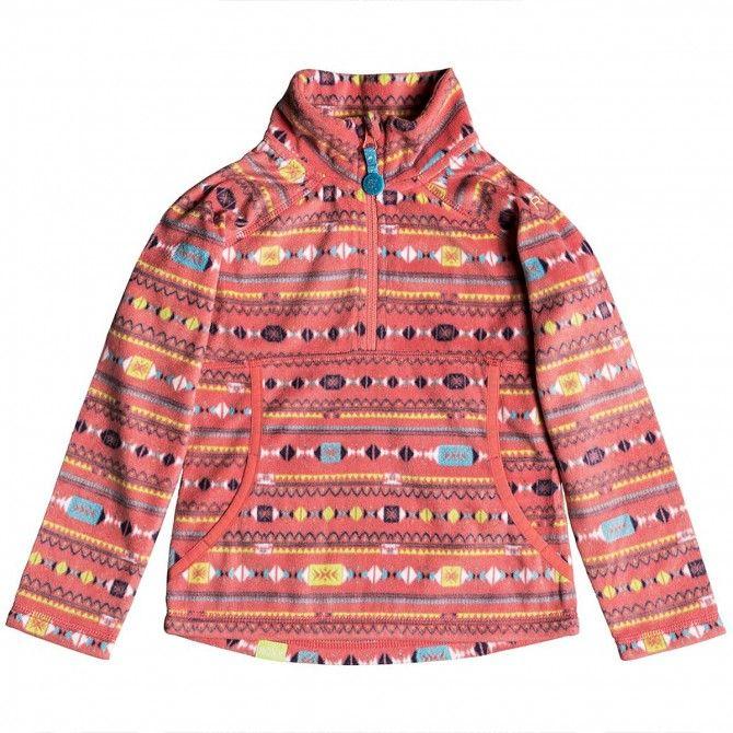 Snowboard sweatshirt Roxy Cascade Teenie Girl