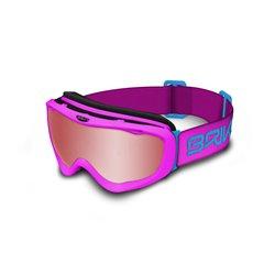 Maschera sci Briko Amiata mat pink blue-p1