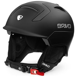 Casco sci Briko Mongibello matt black