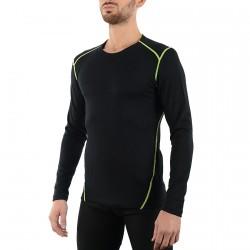 Pullover lingerie Mico Dualtech Merino Homme