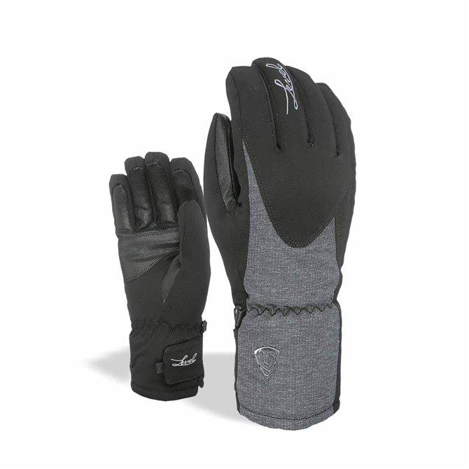 Guanti sci Level Alpine nero-grigio