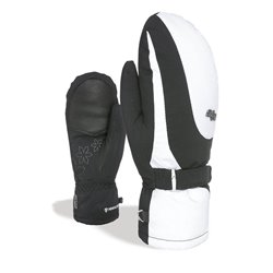 Guanti sci Level Bliss Venus Mitt Nero-Bianco
