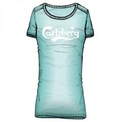 t-shirt Carlsberg woman