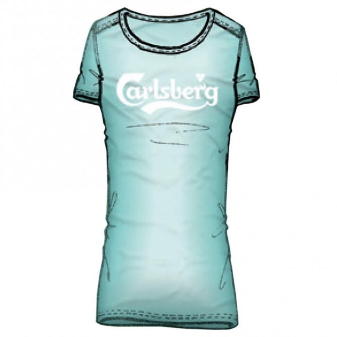 t-shirt Carlsberg Donna