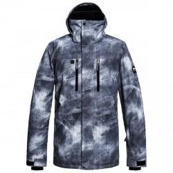 Giacca Snow Quiksilver nero