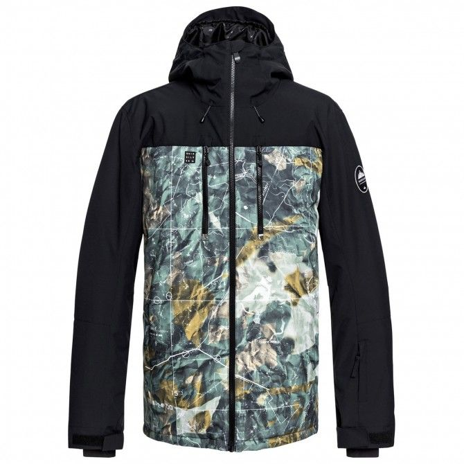 Giacca snowboard Quiksilver Mission Block Uomo