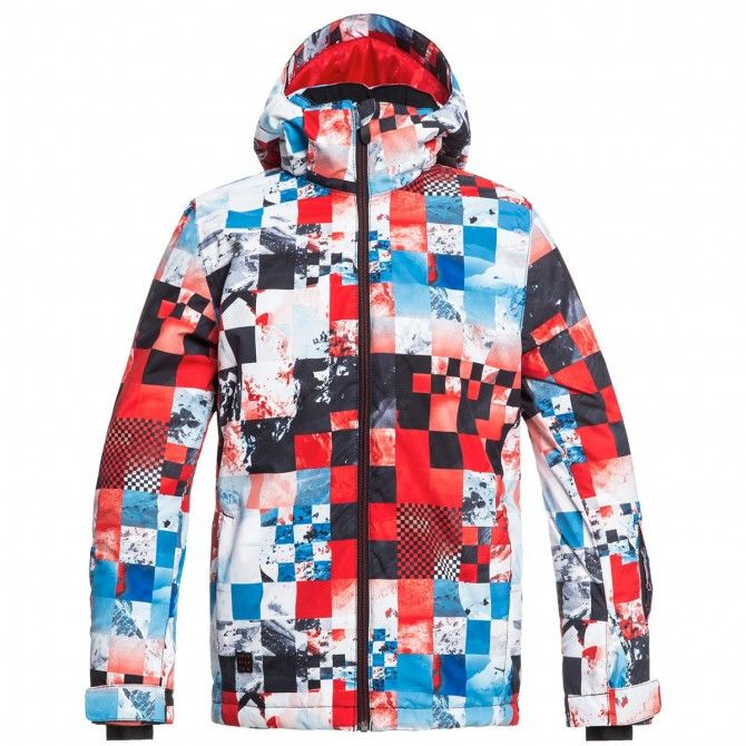 Giacca snowboard Quiksilver Mission Bambino