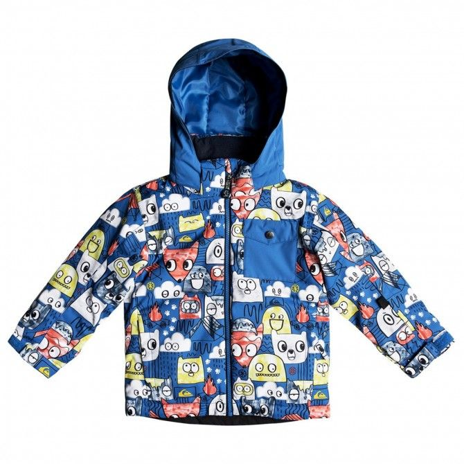 Chaqueta snowboard Quiksilver Little Mission Baby