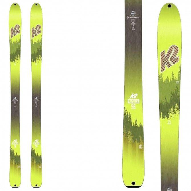 Mountaineering ski K2 Wayback 96