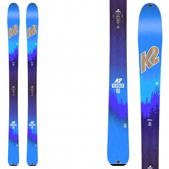 Mountaineering ski K2 Talkback 88