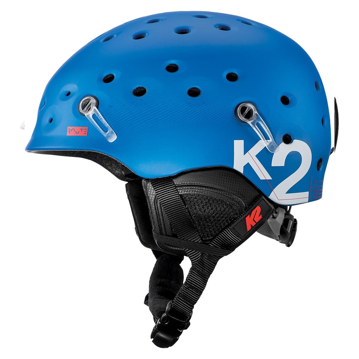 Casco sci K2 Route (Colore: blu, Taglia: 51/55)
