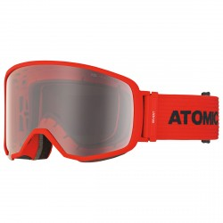 Maschera sci Atomic Revent L FDL rosso