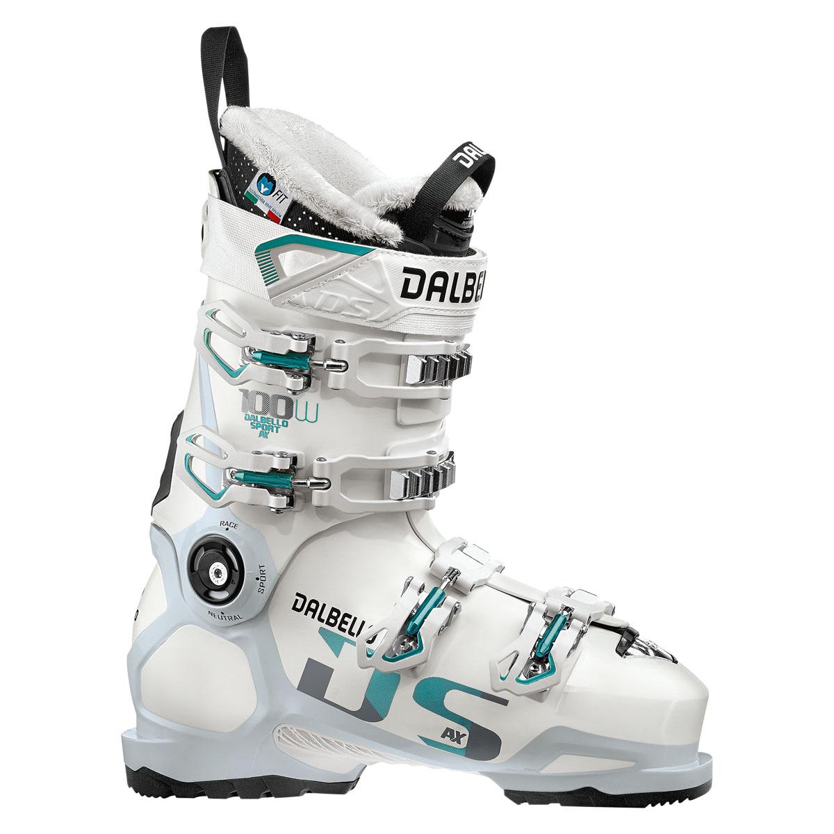 Scarponi sci Dalbello Ds Ax 100 (Colore: bianco, Taglia: 22)