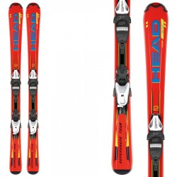 ski Head Supershape Team LR fixations LRX 4.5