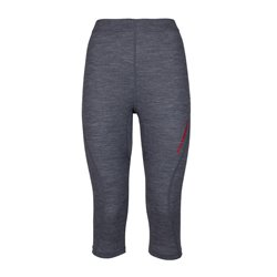 Base Layer Rock Experience Makani Pantaloni 3/4 grigio