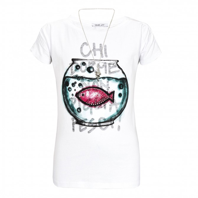 t-shirt Liu-Jo Fish Girl