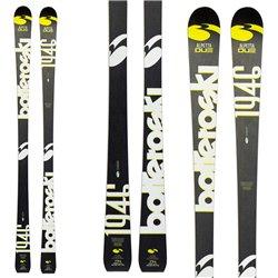 Sci Bottero Ski Alpetta 2 + attacchi Freeflex 11 nero-bianco-giallo