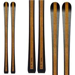 Sci Bottero Ski Prestige + piastra Vist X-Step + Vist VM412 legno
