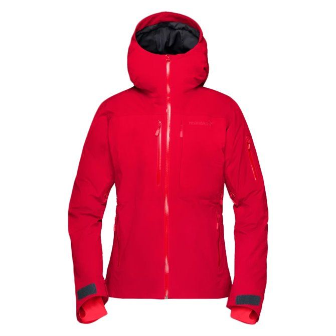 Giacca sci Norrona Lofoten Gtx Insulated rosso