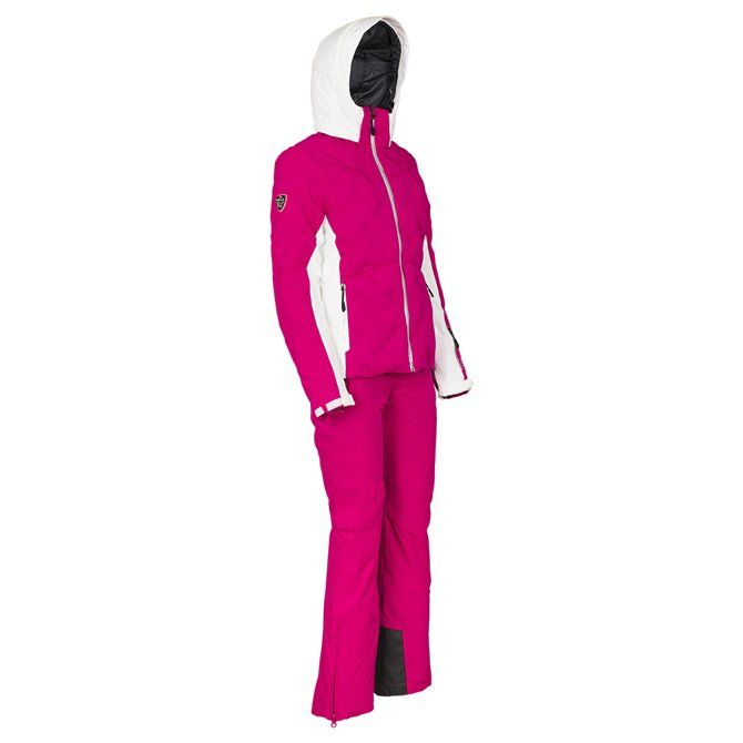 Giacca sci donna magenta