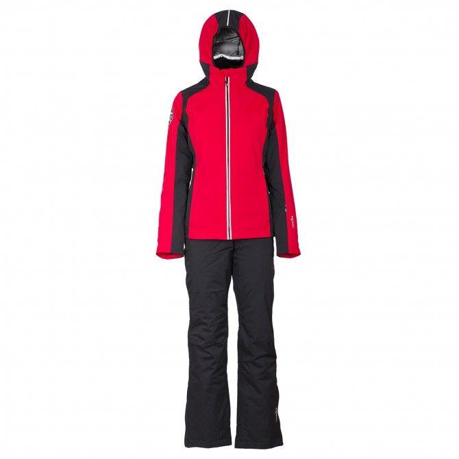Completo sci Bottero Ski Belleayre rosso-nero