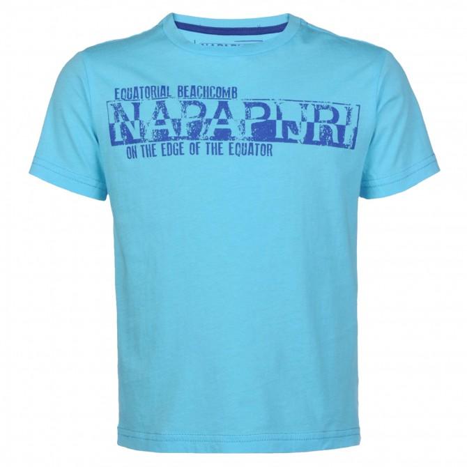 t-shirt Napapijri K Salamandris Atlantic Junior