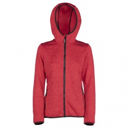 Woman Jacket Fix Hood Bottero Ski MINT-B.CO-IBISCO