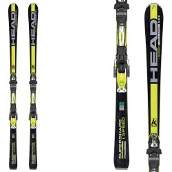ski Head iSupershape Speed Sw + fixations attacchi Prx 12 Racing