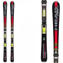 ski Head iSupershape Rally Sw + fixations Prx 12 Racing