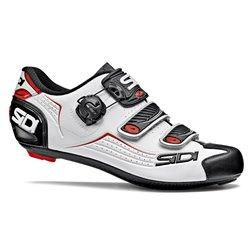 Scarpe Ciclismo Sidi Alba bianco-nero-rosso
