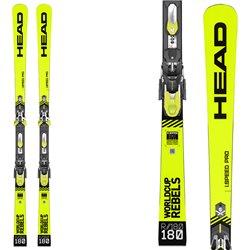 Ski Head Wc Rebels i.Speed Pro Sw with Freeflex Evo 16 brake 85 bindings