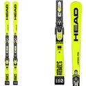 Skis Head Wc Rebels i.Speed Pro Sw avec fixations Freeflex Evo 16 brake 85