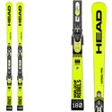 Skis Head Wc Rebels i.Speed Pro Sw + fixations Freeflex Evo 16 brake 85