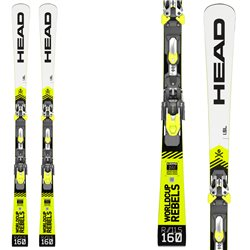 Sci Head Wc Rebels i.SL Rp Evo 14 + attacchi Freeflex Evo 14 brake 85 HEAD Race carve - sl - gs