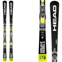 Ski Head Wc Rebels iRace Rp Evo 14 with Freeflex Evo 14 brake 85 bindings