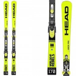 Sci Head Wc Rebels i.Race Pro Sw + attacchi Freeflex Evo 16 brake 85 HEAD Race carve - sl - gs