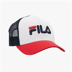 Cappello Fila Trucker black-bright white
