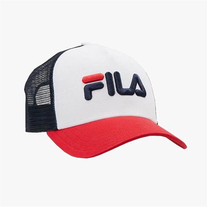 Cappello Fila Trucker black-bright white