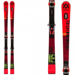 Sci Völkl Racetiger GS + attacchi RMotion 12 VOLKL Race carve - sl - gs