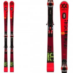 Skis Völkl Racetiger GS + fixations RMotion 12