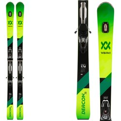 Skis Völkl Deacon 76 + fixations RMotion 12