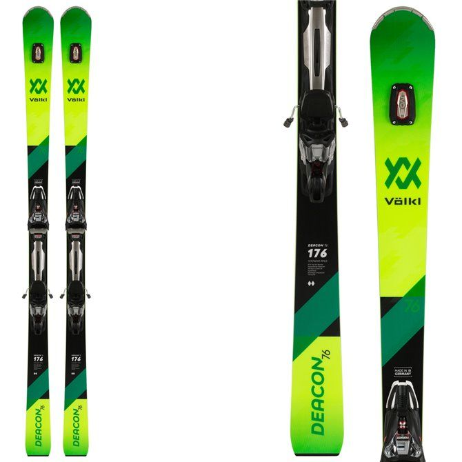 Sci Völkl Deacon 76 + attacchi RMotion 12 VOLKL Race carve - sl - gs
