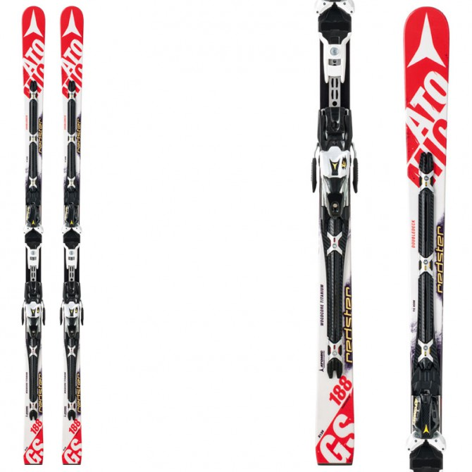 sci Atomic Redster Doubledeck 3.0 Gs + attacchi X12 Tl ome